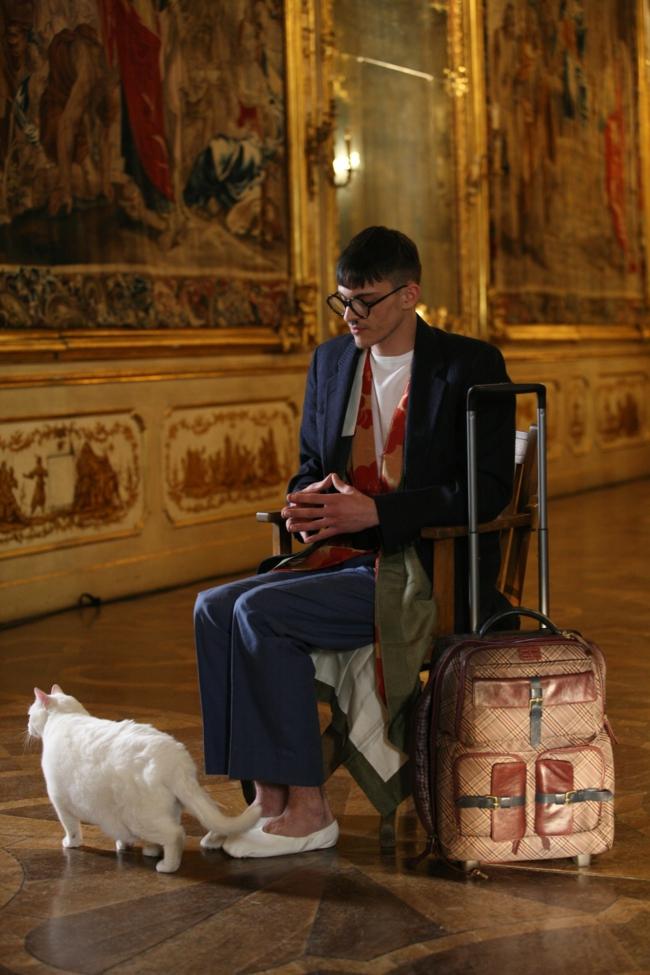 valises-delsey-valise-trolley-homme-artistique-chat