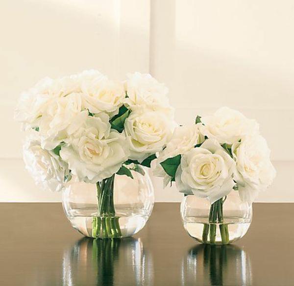 le vase boule petit objet avec de grandes idees With affiche chambre bébé avec gros bouquet fleurs