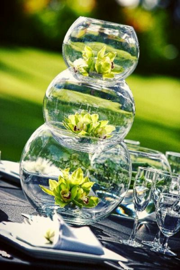Le vase boule petit objet avec de grandes id es for Deco quoi mettre dans un grand vase