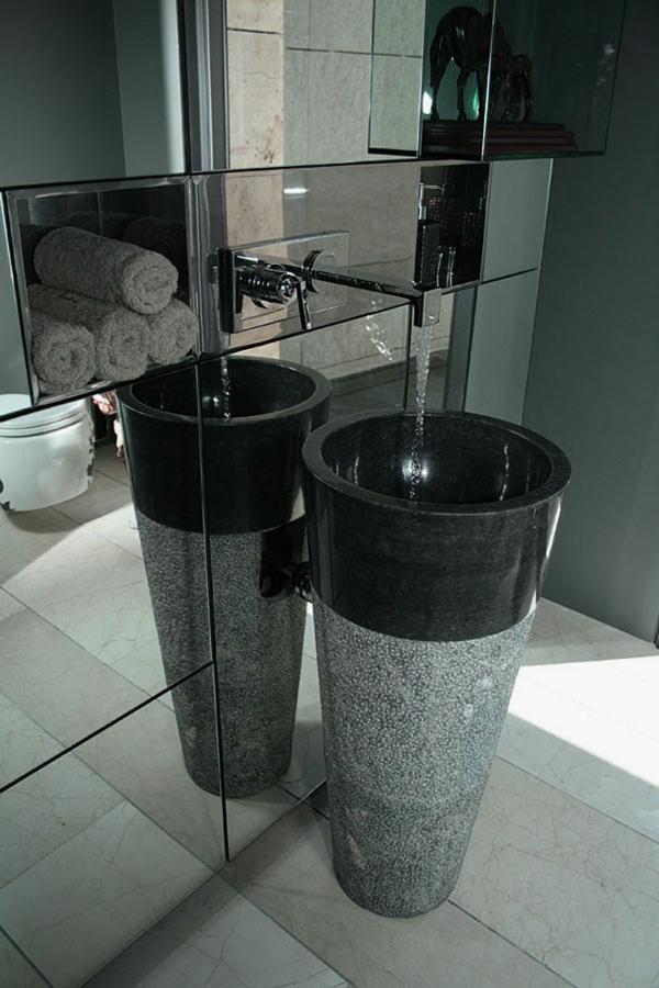 vasque-en-pierre-évier-colonne-en-marbre-et-granit