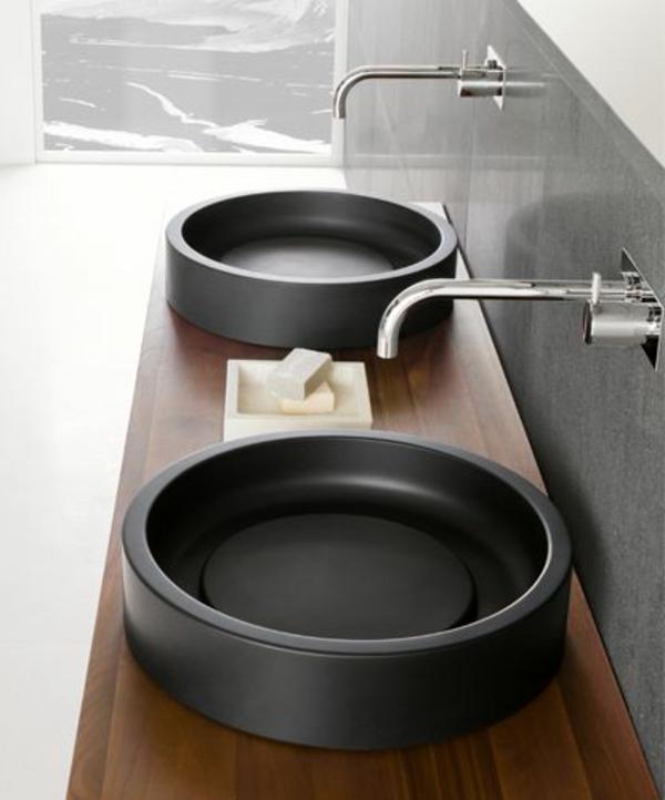vasque-en-pierre-deux-bassins-noirs-superbes