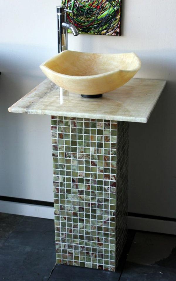 vasque-en-pierre-un-lavabo-en-pierre-beige