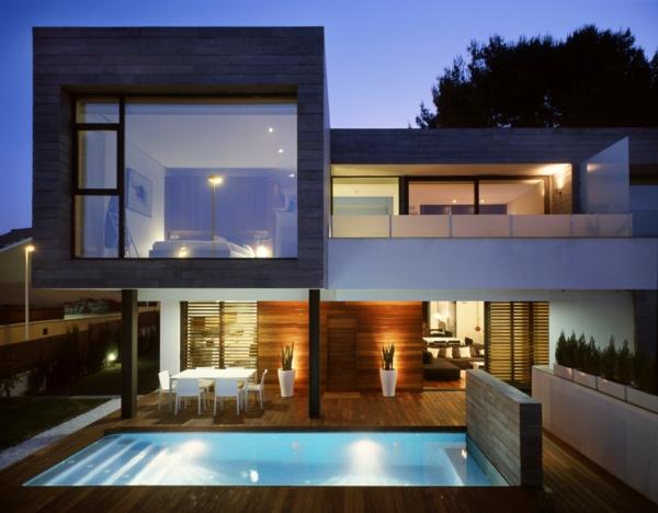 L 39 architecture de la villa contemporaine for Architecture cubique