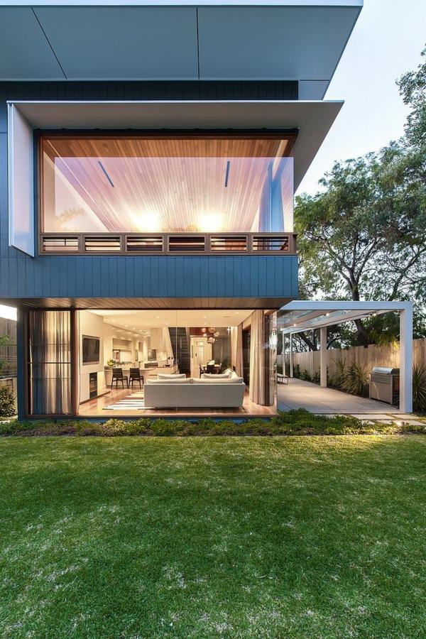 villa-contemporaine-de-deux-étages