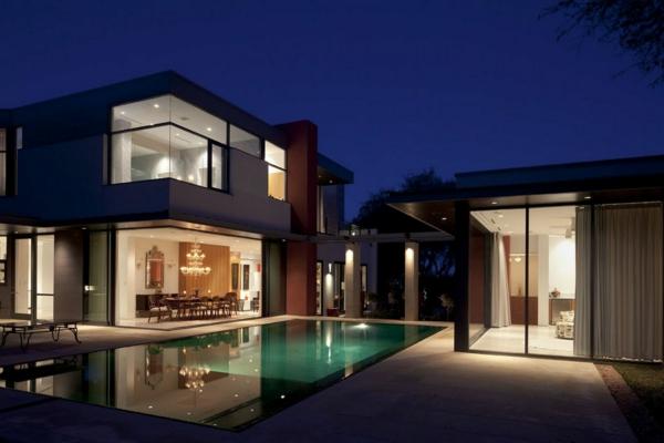 villa-contemporaine-espaces-glamoureuses