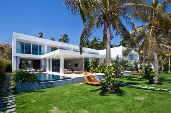 villa-contemporaine-grands-palmiers-devant-elle