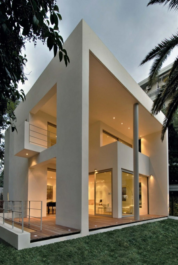 villa-contemporaine-intéressante