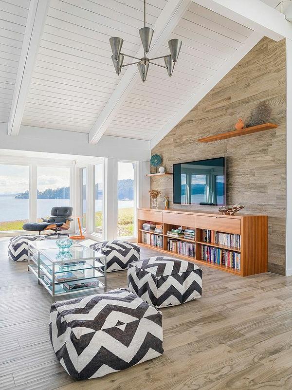 villa-contemporaine-intérieur-en-bois-de-maison-contemporaine