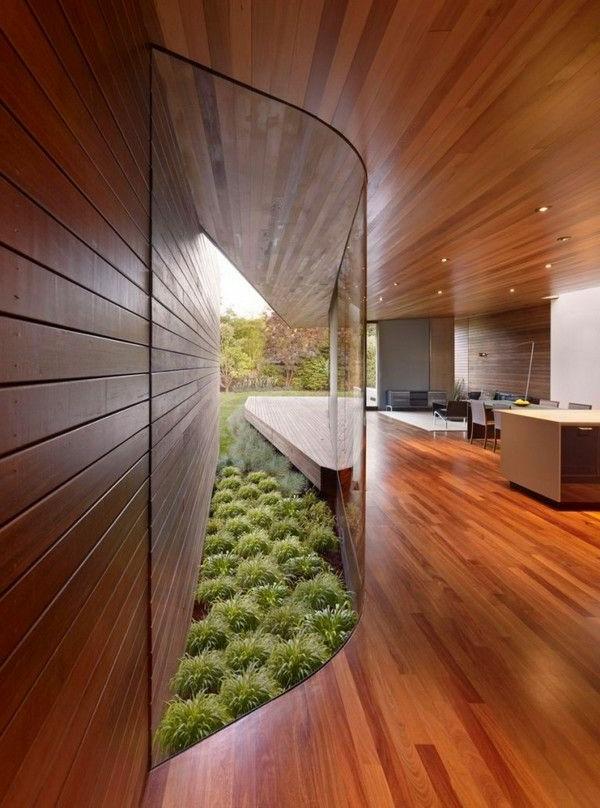 villa-contemporaine-intérieur-spectaculaire-en-bois