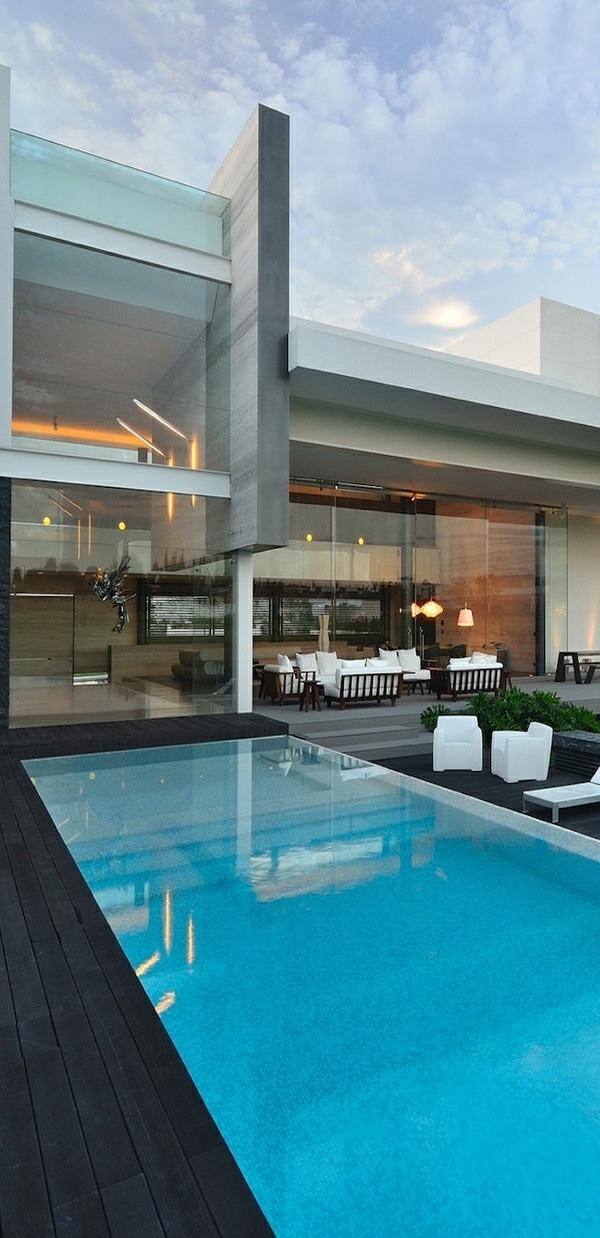 villa-contemporaine-joli-extérieur-de-villa-moderne