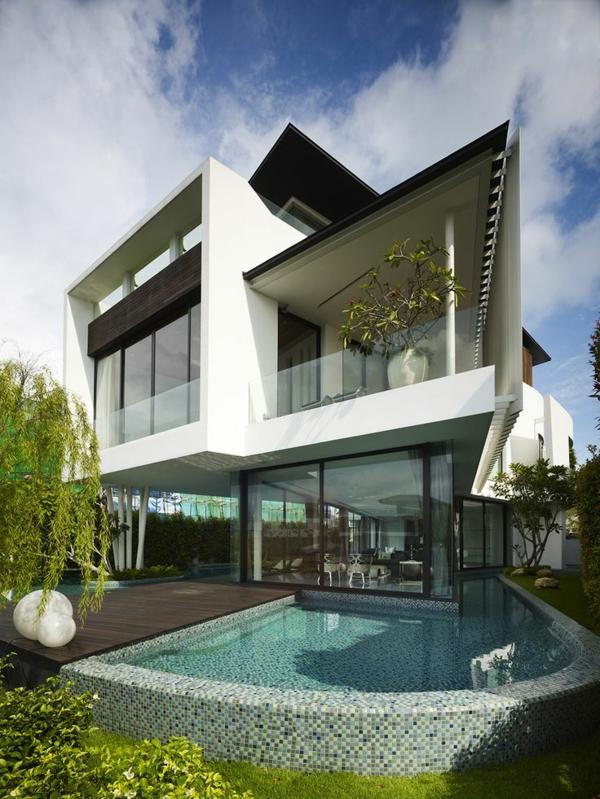 Exemple Facon De Entre Villa En Tunisie  villa contemporaine, villa