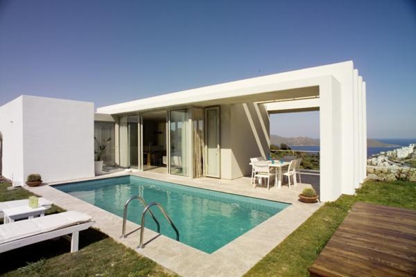 Exemple Facon De Entre Villa En Tunisie  Le modèle de salle de bain