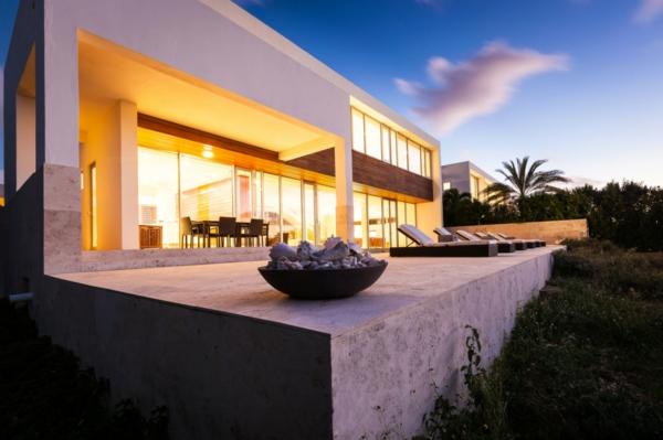 villa-contemporaine-rectangulaire