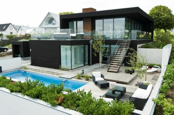 villa-contemporaine-villmoderne-en-noir-et-blanc