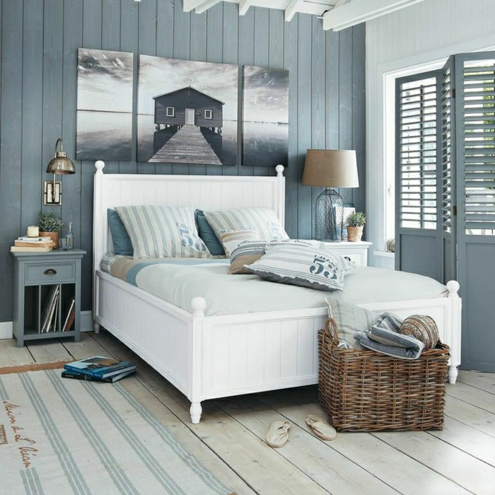 Seaside bathrooms ideas - D 233 Coration Chambre Adulte Marine