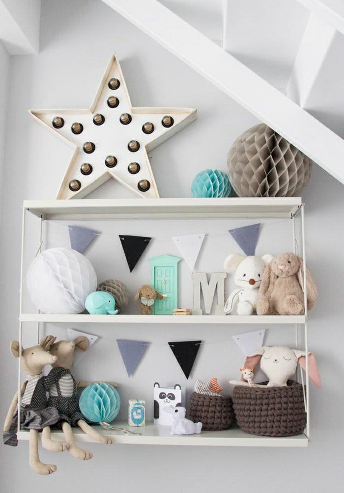 1-étagère-murale-petite-étagère-en-fer-forgé-blanc-chambre-d-enfant-joujoux-mur-gris