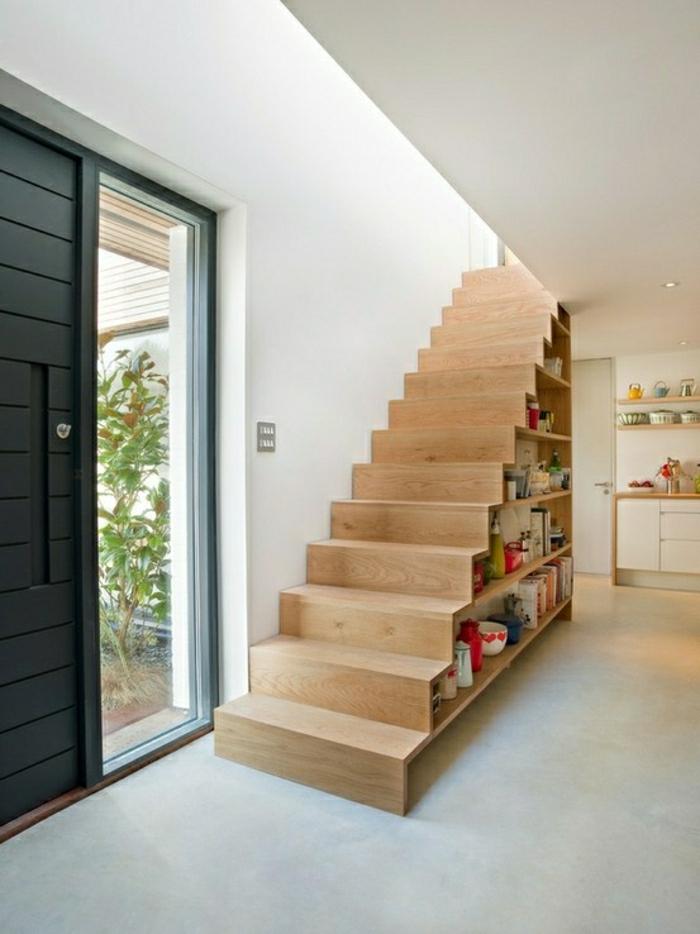 Adoptez l am nagement sous escalier chez vous - Idee rangement sous escalier ...
