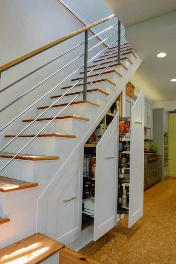 Adoptez l am nagement sous escalier chez vous Amenagement placard sous escalier