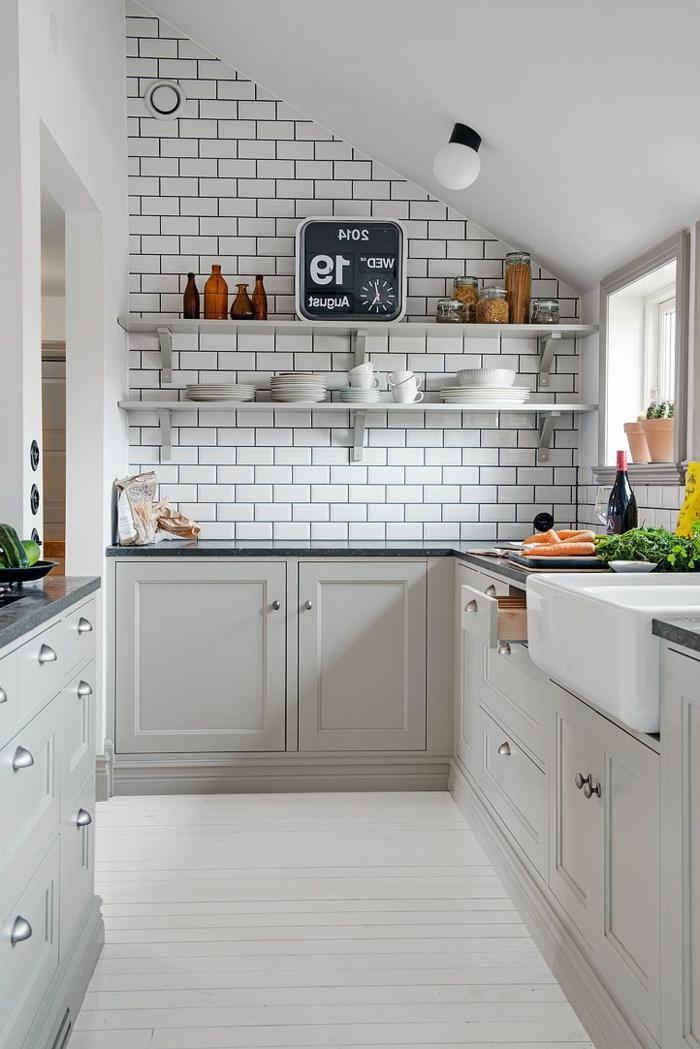 La cuisine grise plut t oui ou plut t non for Meuble de cuisine gris clair
