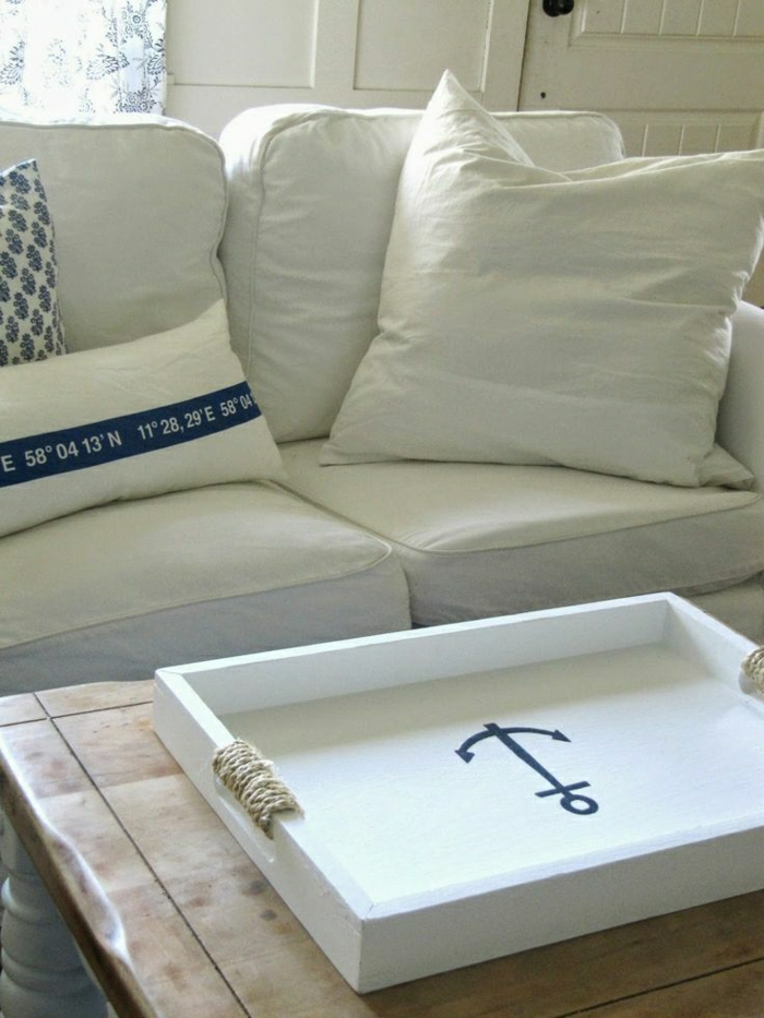 la d coration marine en 50 photos inspirantes. Black Bedroom Furniture Sets. Home Design Ideas