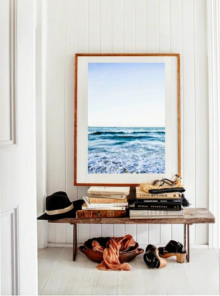 1-décoration-marine-idée-originale-de-style-marin-peinture-mer-belle-vue