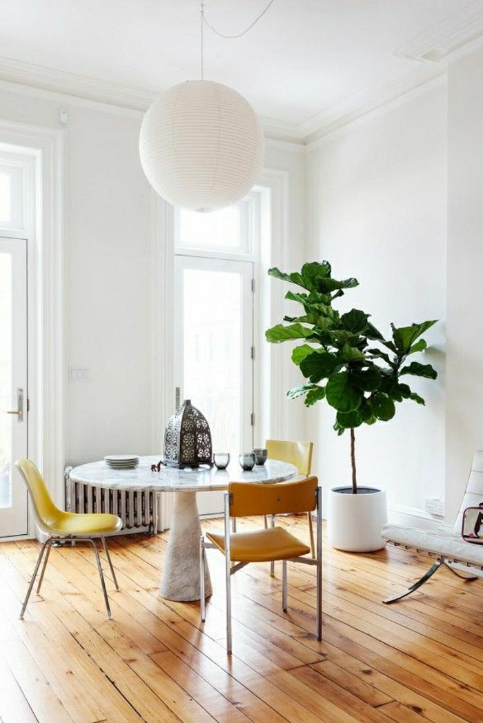 1-en-marbre-blanc-table-de-salle-de-séjour-sol-en-parquet-mur-blanc-lustre-blanc