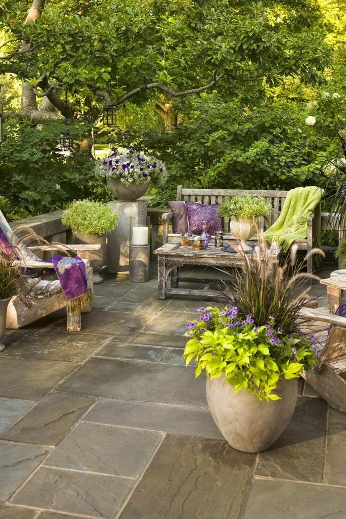 Le meuble rustique pour le jardin voir nos id es magnifiques for Le beau jardin restaurant
