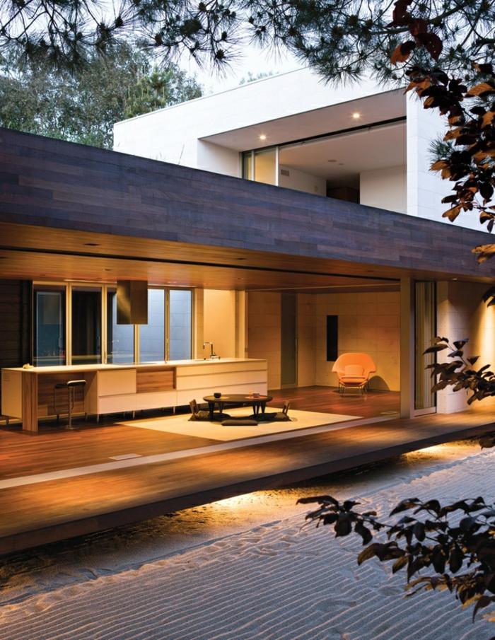 1-luminaires-exterieurs-décoration-extérieur-maison-contemporaine-avec-lampes-d-exterieur