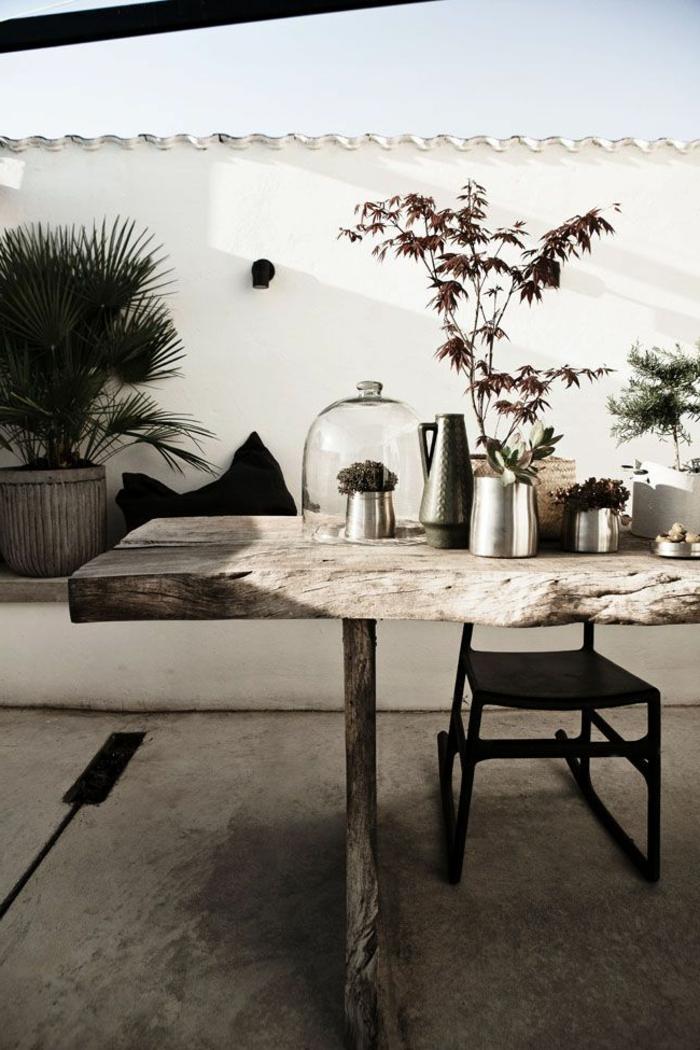 1-meubles-rustiques-table-rustique-pour-le-jardin-aménagement-de-jardin-moderne
