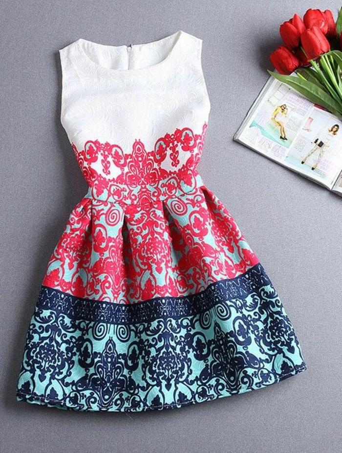 1-robe-d-ete-élégante-fleurs-blanc-rouge-bleu-robe-tendance=mode