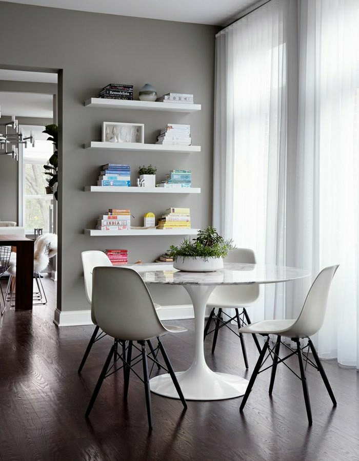 Table salle a manger blanche ikea
