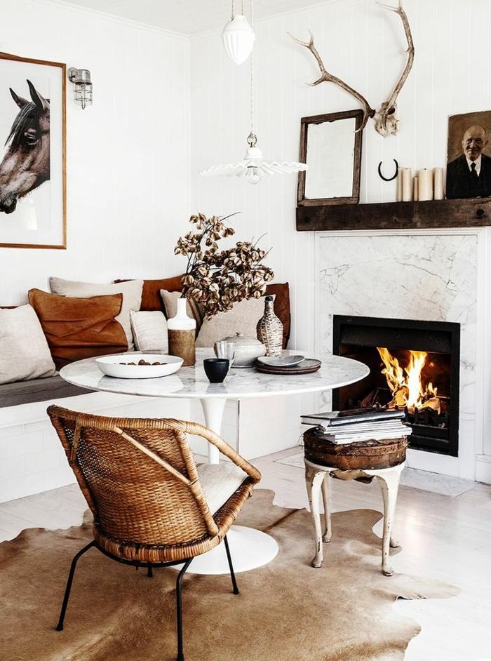 1-salon-cheminée-en-peau-de-vache-parquet-table-basse-de-salon-intérieur-style