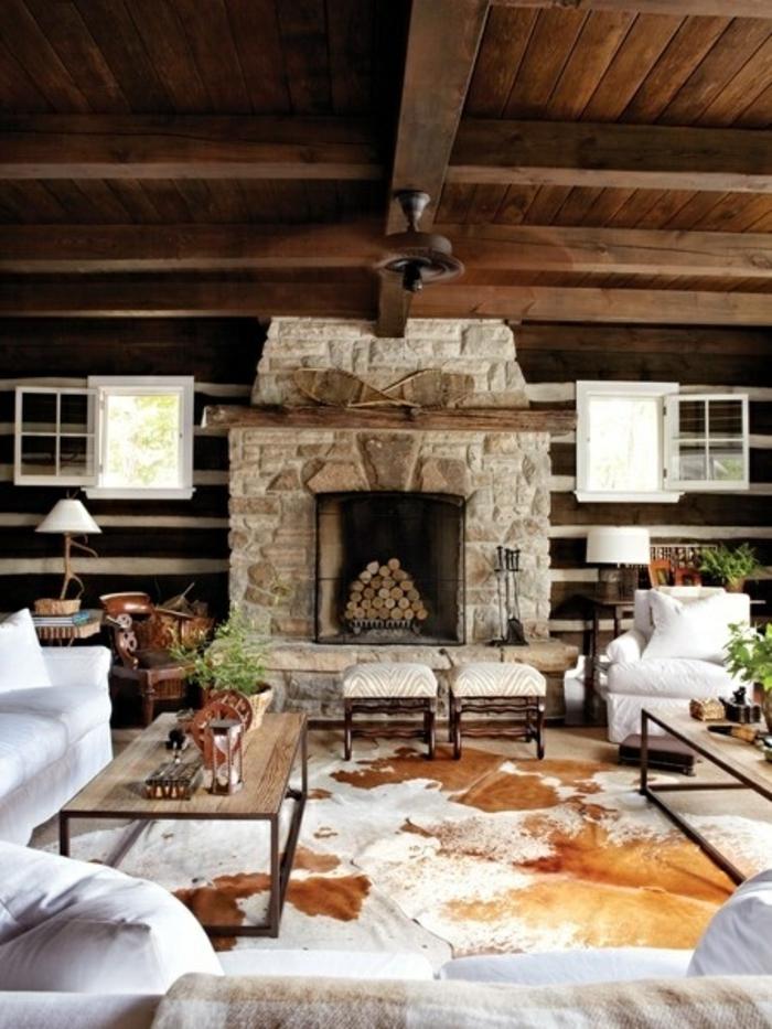 1-salon-de-luxe-fleurs-tapis-en-peau-de-bete-salon-cocooning-table-de-salon-ambiance-rustique