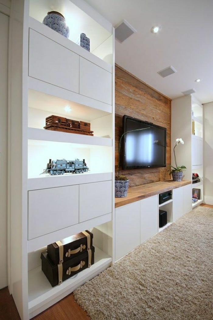 1-salon-moderne-design-meuble-télé-en-bois-bibiothèque-laqué-blanc-tapis-beige