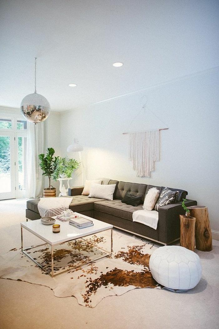 1-salon-moderne-tapis-peau-de-vache-tapis-en-peau-parquet-table-de-salon-basse-plantes-vertes
