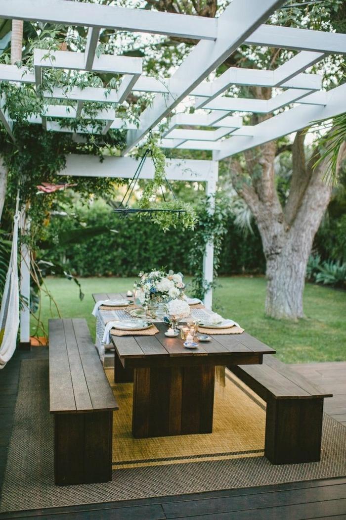 la table de pique nique qui va vous inspirer. Black Bedroom Furniture Sets. Home Design Ideas
