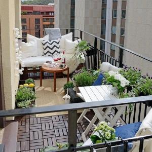 La terrasse en ville qui inspire la plupart des designers d'extérieur!