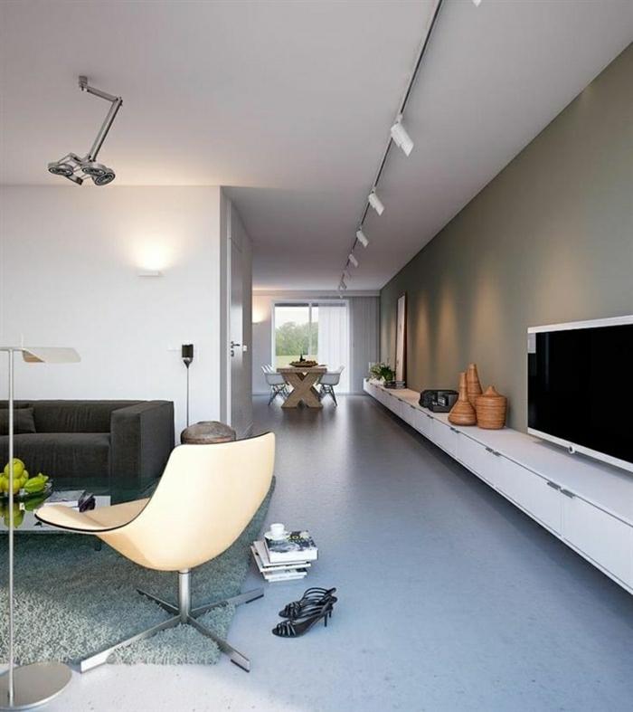 Moderne Kast Woonkamer: Hoogglans wit modern barok woonkamer kast op ...