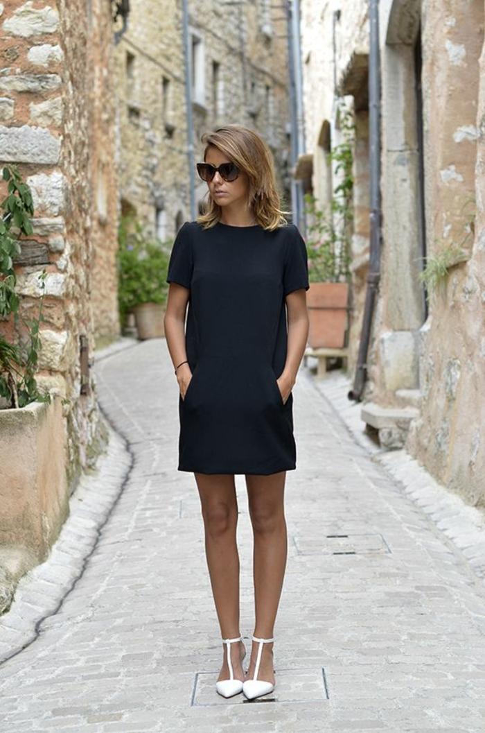 1-une-belle-femme-brunette-robe-naf-naf-robe-habillée-robe-noire