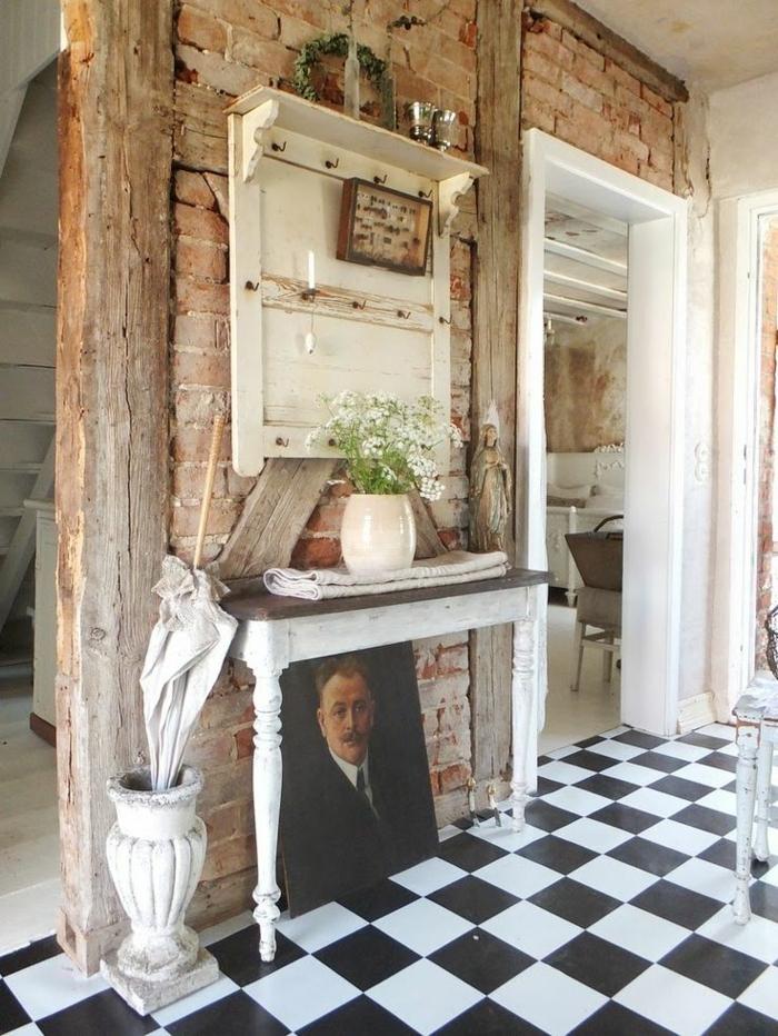 2-console-d-entrée-meubles-console-bois-décoration-aménagement-industriel-mur-de-briques