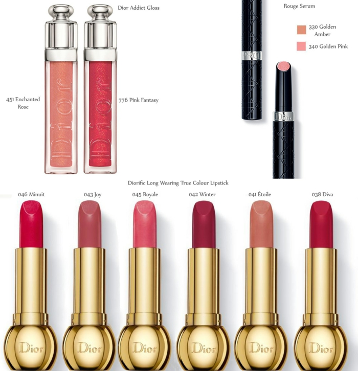beauté-dior-maquillage-rouge-à-levres-collection