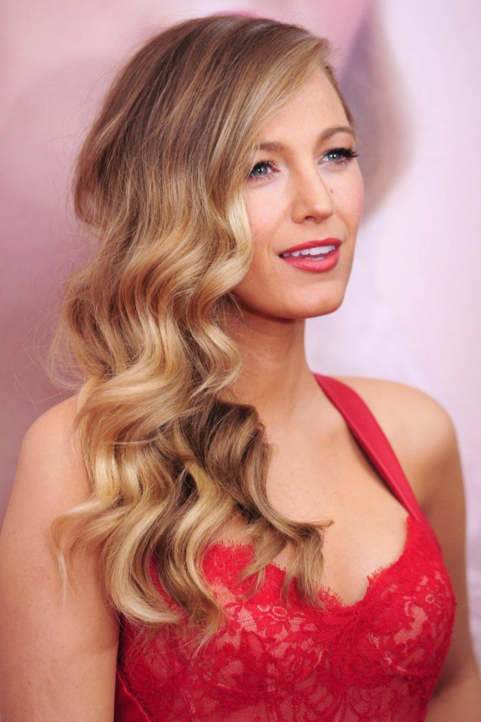 couleur blond fonc cendr blacke lively robe rouge - Coloration Cheveux Blond Cendr