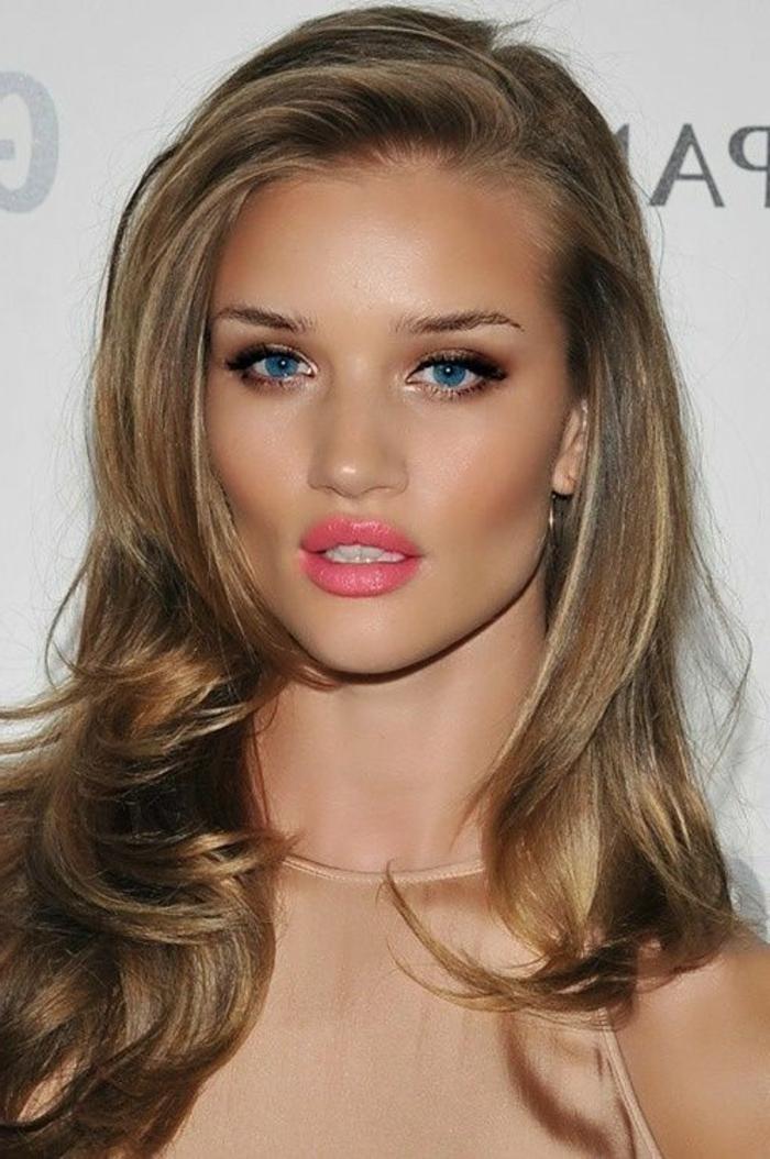 La couleur blond fonc parfait pour cette t et automne - Maquillage pour blonde ...