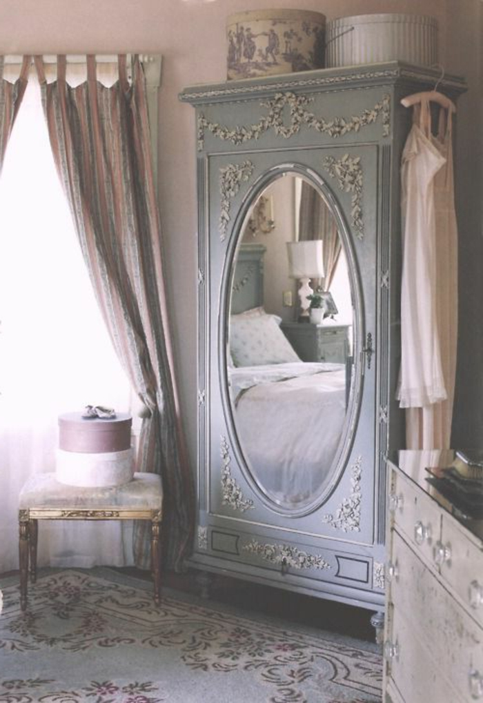 La deco chambre romantique 65 id es originales for Amenagement chambre a coucher