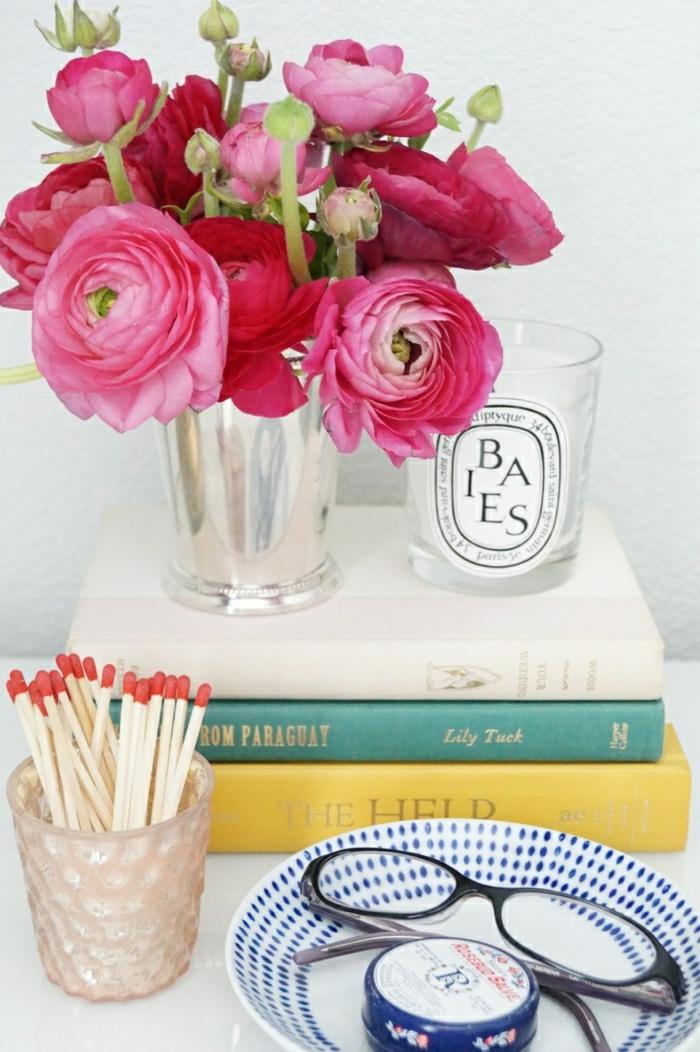 Bouquet-pivoine-fleur-jolie-déco-idée-la-tablle-de-chevet