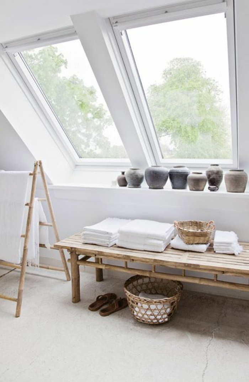 Salle De Bain Romantique Blanche : La fenêtre de toit pour ma salle de bain