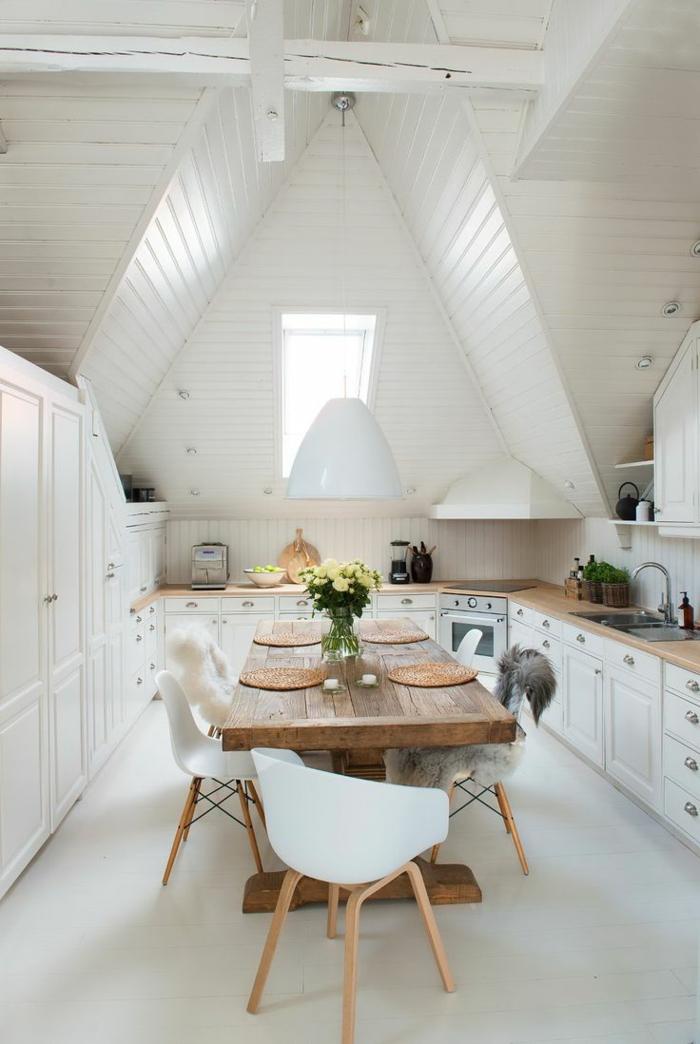Carreau-vitre-fenêtre-châssis-de-toit-cuisine