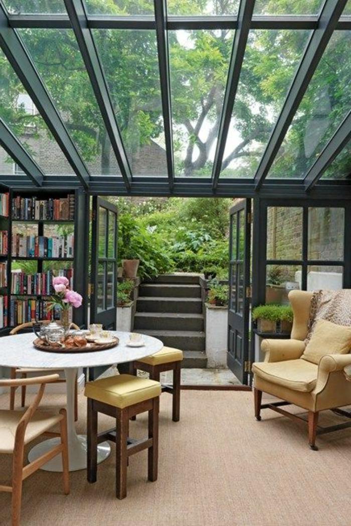 Carreau-vitre-fenêtre-châssis-de-toit-jardin-porte-fenetre