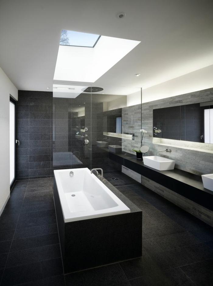 Carreau-vitre-fenêtre-châssis-de-toit-sale-de-bain-luxeuse