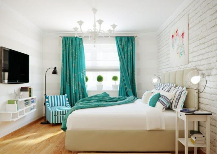 Chambre-à-coucher-aigue-marine-décoration-aménagement
